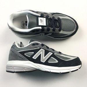95fff9d855c1 ... Youth Shoes 1 Z43 New Balance 990 Black Kids Shoes Sz 1  64 Z81